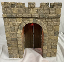 "Fontanini Heirloom ~ CITY WALLS Lighted City Gate For 5"" Nativity #94803 NO BOX"