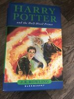 Harry Potter and the Half Blood Prince JK Rowling 1st edition  11 Owls Misprint