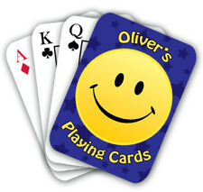 Personalised Playing Cards various designs