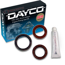 Dayco Engine Timing Seal Kit for 1992-2001 Acura Integra 1.8L 1.7L L4 - zm