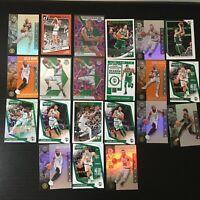 Huge Lot (38) Jayson Tatum Reactive Blue Prizm + Boston Celtics Rookie Cards RC