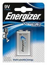 Energizer 635236 Lithium Battery 9 V - Silver