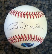 BILLY MARTIN, New York Yankees, signed OAL Bobby Brown Baseball JSA