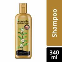 Indulekha Bringha Ayurvedic Anti Hair Fall Shampoo Prevents Hair Fall - 340ml
