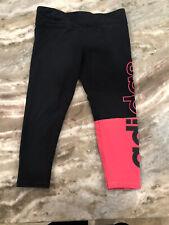Adidas Pink And Black Leggings Toddler Girl Size 3T