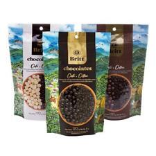Cafe Britt Chocolates – Gourmet Chocolate-covered Arabica Coffee Beans (3 Pack)