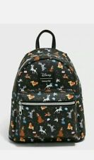 LOUNGEFLY DISNEY DOGS MINI BACKPACK NEW WITH TAGS Lady Tramp more