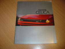 CATALOGUE Toyota Celica de 1985 en néerlandais