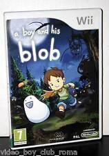 A BOY AND HIS BLOB WAYFORWARD GIOCO USATO OTTIMO STATO UK NINTENDO Wii FR1 36392