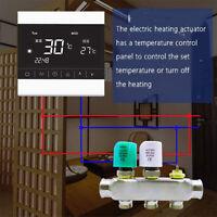 Stellantrieb stromlos geschlossen thermal actuator Fußbodenheizung 220V NC/NO