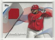 PRINCE FIELDER 2017 Topps Jersey Material Relic Texas Rangers