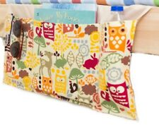 Tulli's Toys Bed Pocket Caddy Children's Organizer Beige with Yellow Owl Pattern