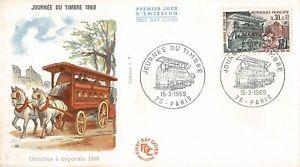 Enveloppe FDC FRANCE JOURNEE DU TIMBRE 1969 PARIS
