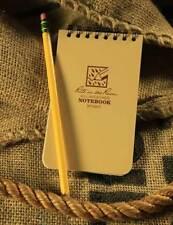 "Rite In The Rain 3""x 5"" Waterproof Tactical Pocket Notepad DESERT TAN No 935T"