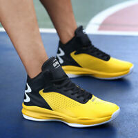 Men's Sneakers Shoes Sports Casual Breathable Walking Athletic High Basketball