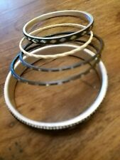 Black And Silver Indian Bangle Bracelet Set