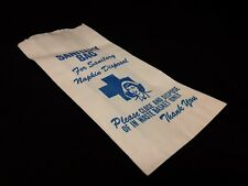 Vintage Sanitary Napkin Disposal Bag with nurse Kitsch prop