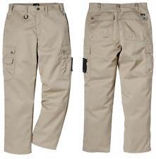 Ladies Trousers Womens Pocket Fristads Pants Workwear Combat Cargo Heavy Duty