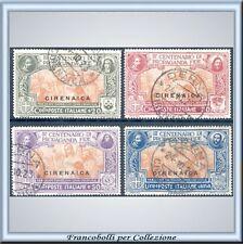 1923 Colonie Cirenaica Propaganda FIDE n. 1/4 Usati U