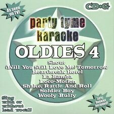 FREE US SH (int'l sh=$0-$3) NEW CD Various Artists: Party Tyme Karaoke: Oldies 4