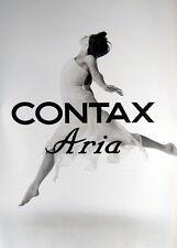 CONTAX Aria Prospekt brochure - (0413)