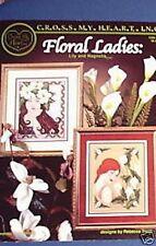 Señoras Floral Gráfico De Punto De Cruz Cross My Heart