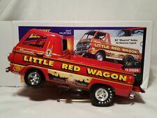 "Bill ""Maverick"" Golden's 1988 Dodge A-100 Little Red Wagon 1:24 Johnny Lightning"