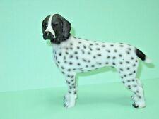 "German Shorthair Dog, 3"" to 4"", Hand Painted Figurine"