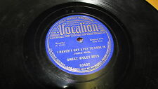 SWEET VIOLET BOYS VOCALION 78 RPM RECORD 03402 HAVEN'T GOT A POT TO COOK IN