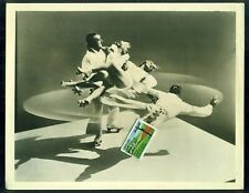 1950s Skating Vanities Motion Picture Press Photo The Whirlwinds Roller Skaters