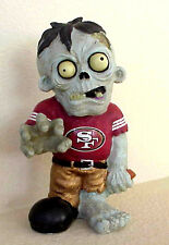 SAN FRANCISCO 49ers NFL FOOTBALL RESIN ZOMBIE FIGURE BY FOREVER COLLECTIBLES