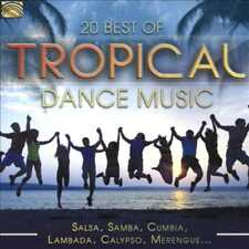 VARIOUS ARTISTS - 20 BEST OF TROPICAL DANCE MUSIC [2017] NEW CD