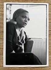 1970 EARTHA KITT Vintage original 8 1/2 x 12 Inch Photo by NEIL LIBBERT