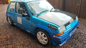 RENAULT 5 GT TURBO RACE RALLY TRACK CAR HILL CLIMB SPRINT