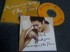 MICHAEL JACKSON / remember the time /JAPAN LTD CD