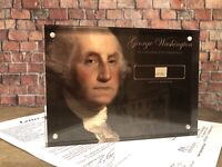 GEORGE WASHINGTON 1797 SIGNED HANDWRITTEN WORD JSA LOA AUTHENTIC HISTORY GIFT