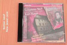 Schubert - Symphonie n°9 The Great La Grande- Kurt Masur - CD Philips