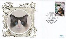 (81160) Guyana Benham FDC Cats - 18 September 1996