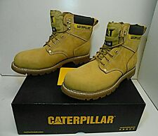 Cat Men's Boots Caterpillar Second Shift ST Steel Toe Wheat Size 8.5 Built