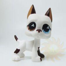 Littlest Pet Shop Animal LPS Loose Toy #577 White Great Dane Puppy Dog