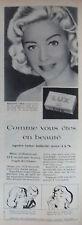 PUBLICITÉ 1957 MARTINE CAROL EMPLOIE LE SAVON LUX - ADVERTISING