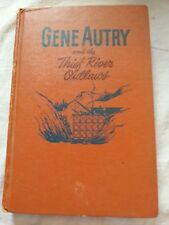 Gene Autry and the theif River outlaws book