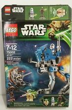 LEGO Star Wars AT-RT 75002 Yoda Sniper Droid Clone Trooper The Clone Wars