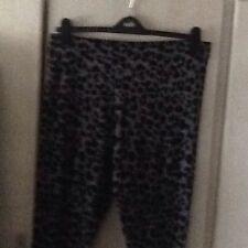 Black/grey Animal Print Leggings By 'Tu' Size 18