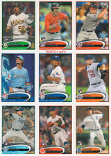 2012 Topps Traded Updates and Highlights Baseball Set Bryce Harper  No Factory