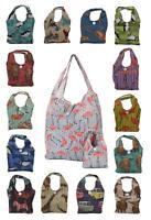 Eco Chic Reusable Foldable Shopping Bag / Fold Away Bag