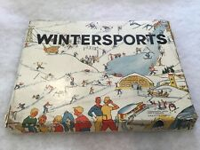 Rare Board Game Containing John hill Speed Skaters 'WINTERSPORTS'