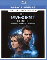 THE DIVERGENT SERIES: 3-FILM COLLECTION NEW BLU-RAY DISC
