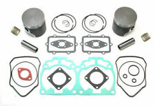 Ski-Doo Rev 800 Top End Rebuild Kit Dual Ring Pistons Bearings Gaskets 04 05 06