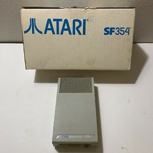 Vintage Atari SF354 Floppy Drive With Original Box and Packaging Video game
